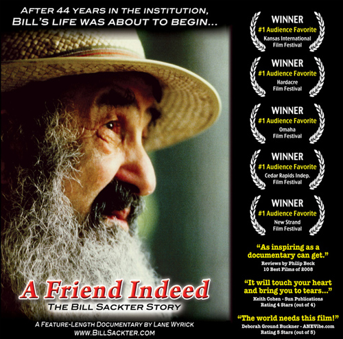 A Friend Indeed - The Bill Sackter Story - Poster Image