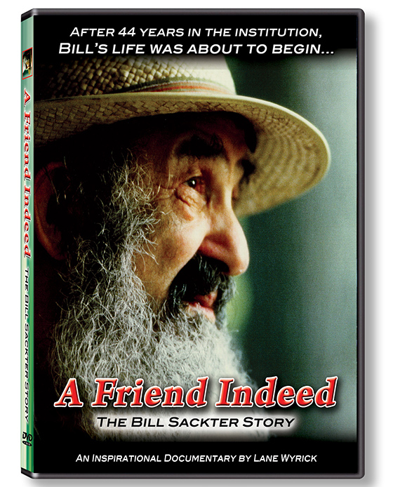 The DVD of A Friend Indeed - The Bill Sackter Story is available exclusively at Amazon.com