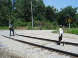 Railroad tracks - scene 1