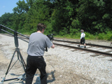 Railroad Tracks - scene 2