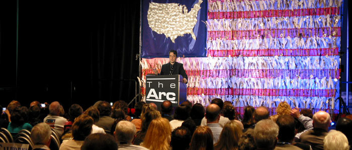 Lane Wyrick speaks at Arc National Convention