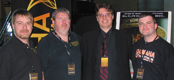 Lane Wyrick with Omaha Film Festival directors