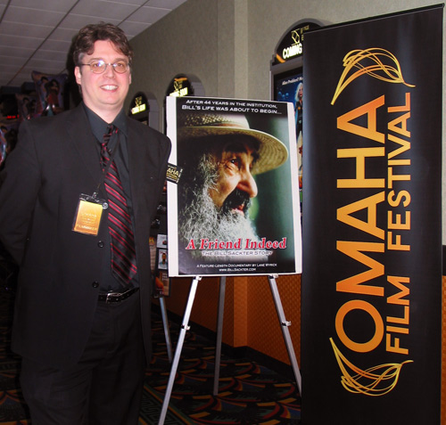 Lane Wyrick at the Omaha Film Festival